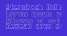 Sternbach Hollow