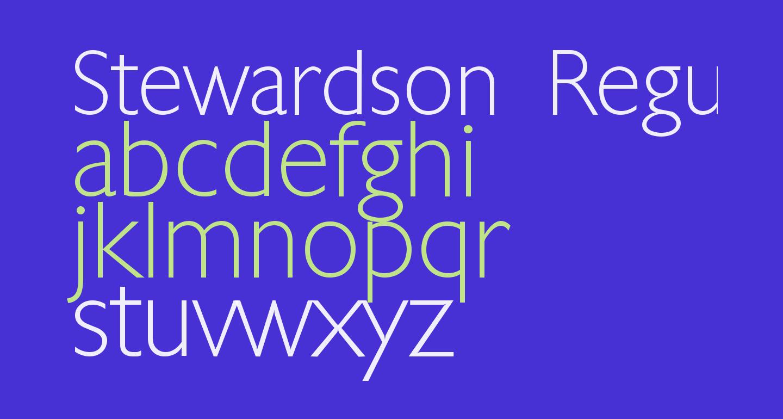 Stewardson Regular