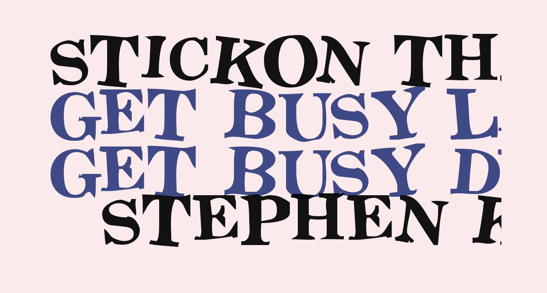 Stickon Three