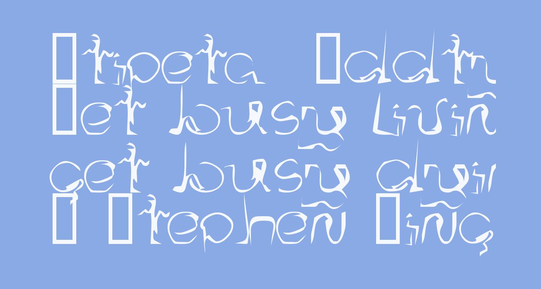 Stipeta  Oddtype