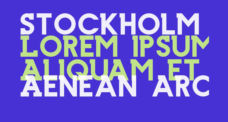 Stockholm Slab