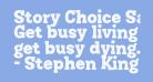 Story Choice Sans Serif Heavy