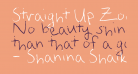 Straight Up Zody