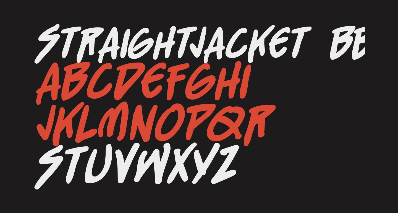StraightJacket BB Bold