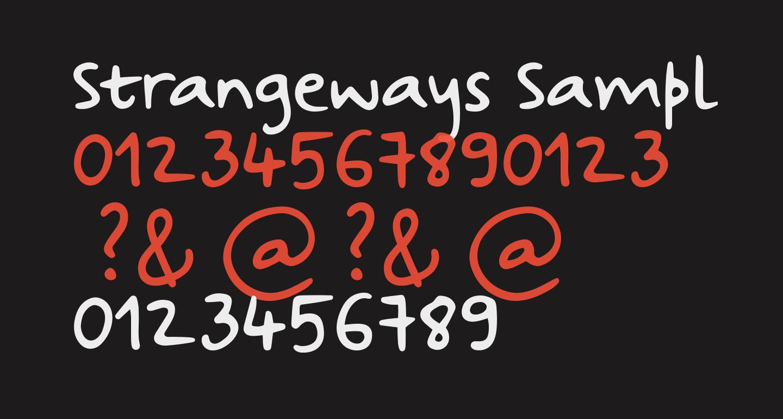 Strangeways Sample