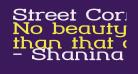 Street Corner Slab Extend