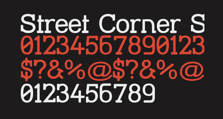 Street Corner Slab SemiBold