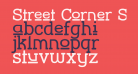 Street Corner Slab Upper