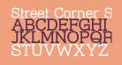 Street Corner Slab