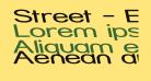 Street - Expanded Reverse Italic