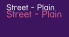 Street - Plain