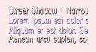 Street Shadow - Narrow