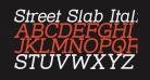 Street Slab Italic