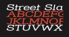 Street Slab - Super Wide Italic