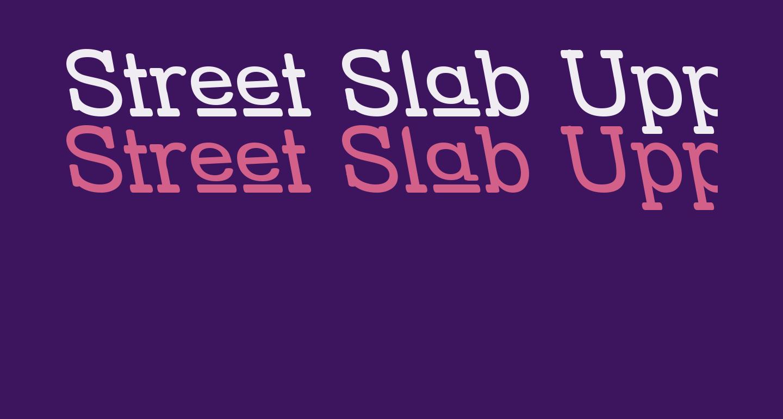 Street Slab Upper - Rev