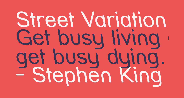 Street Variation - Rev