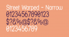Street Warped - Narrow