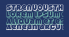 StrenuousThreeD-Regular