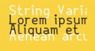 String Variable Medium
