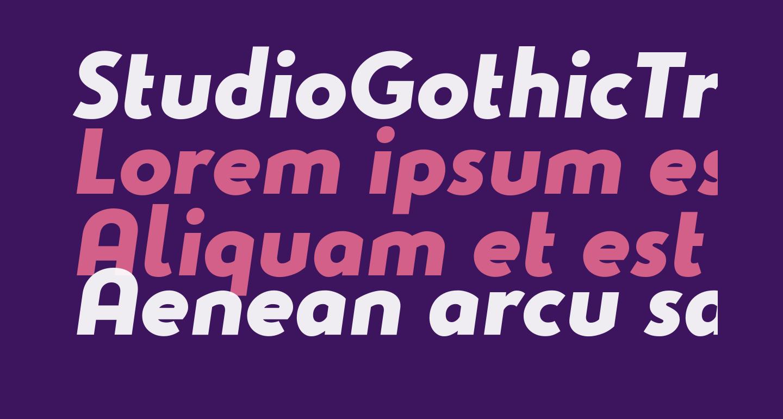 StudioGothicTrial-ExtraBoldItal