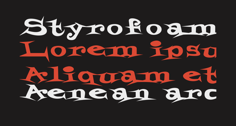 StyrofoamFeelings-Regular