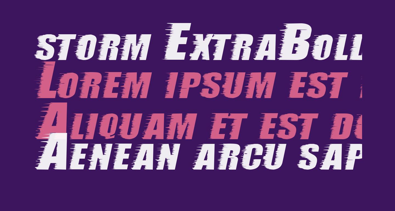 storm ExtraBold