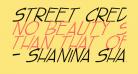 street cred Italic