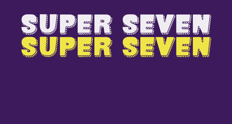 SUPER SEVEN Shadowed Demo