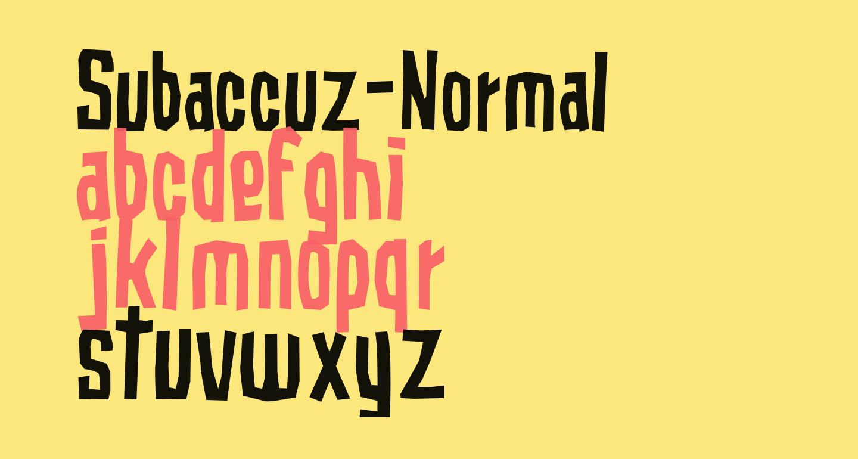 Subaccuz-Normal