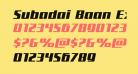 Subadai Baan Expanded Italic