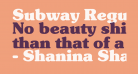 Subway Regular