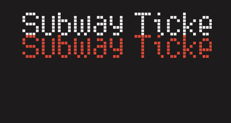 Subway Ticker
