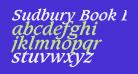 Sudbury Book Bold Italic