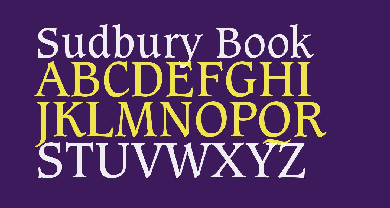 Sudbury Book