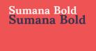 Sumana Bold
