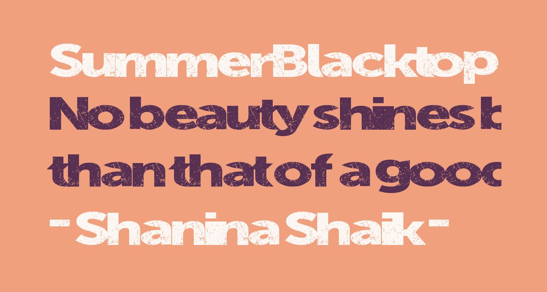 SummerBlacktop