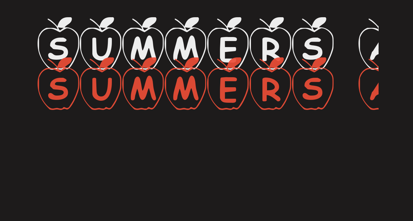 Summers Apples