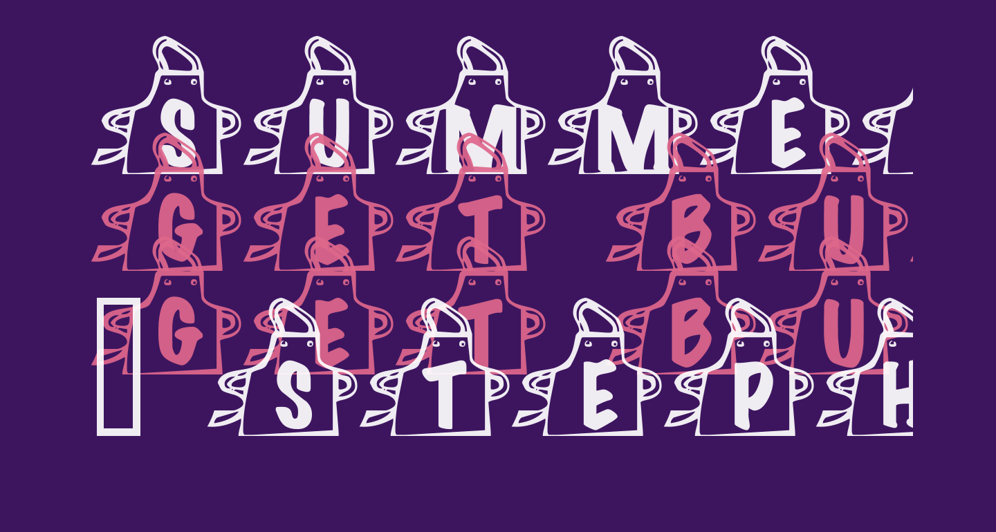 Summers Aprons