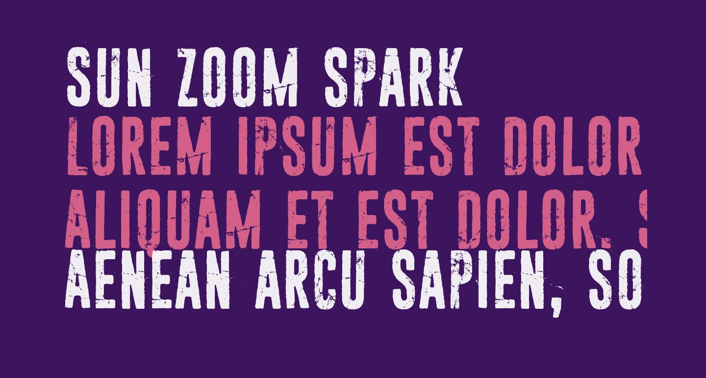 Sun zoom spark