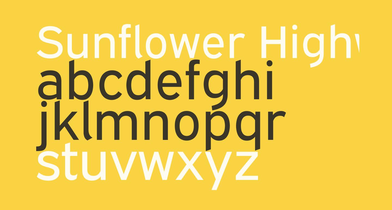 Sunflower Highway