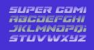 Super Commando Gradient Italic