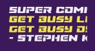 Super Commando Semi-Italic