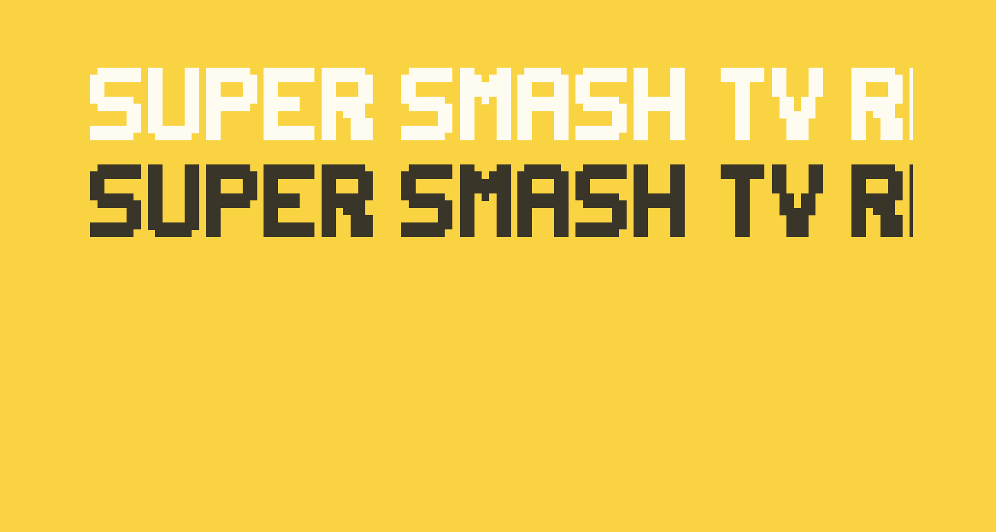 Super Smash TV Regular