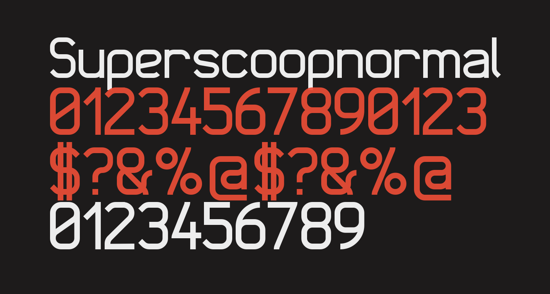 Superscoopnormal
