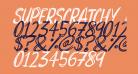 Superscratchy Italic
