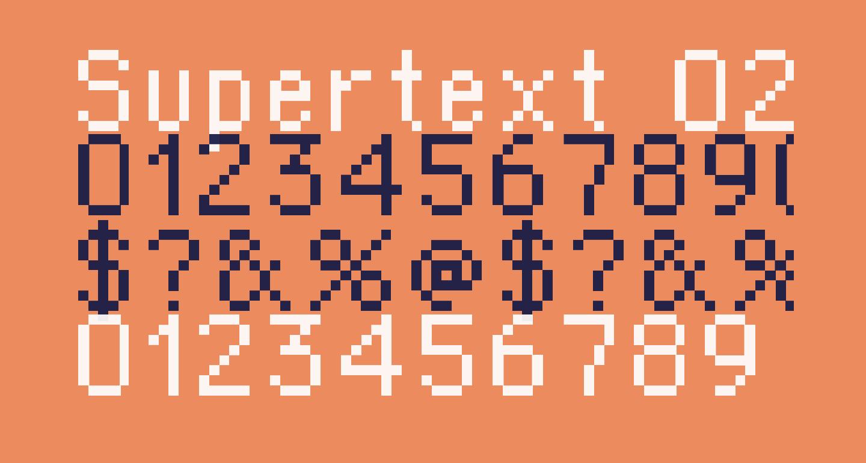 Supertext 02