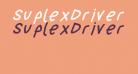 SuplexDriver Black OBlique