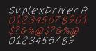 SuplexDriver Regular Oblique