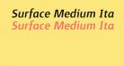 Surface Medium Italique