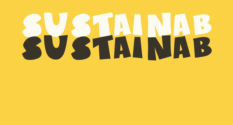 Sustainable Amazon II Bold
